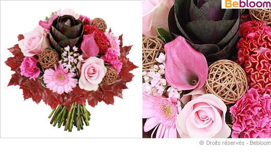 bouquet de fleurs ete indien