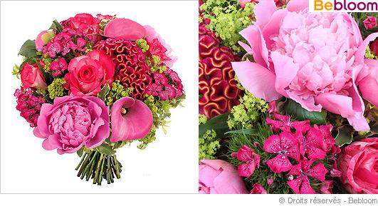 Bouquet fleurs fetes des meres