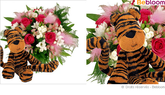 Offrir des fleurs naissance garcon