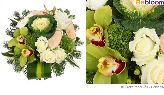 Offrir un bouquet pour le reveillon