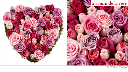 Bouquets plus de 50 euros part 2 - Bouquet de fleur en coeur ...
