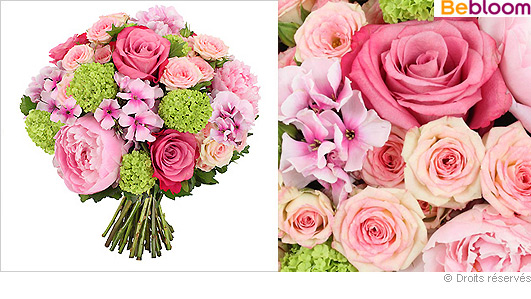 bouquet rose part 6. Black Bedroom Furniture Sets. Home Design Ideas