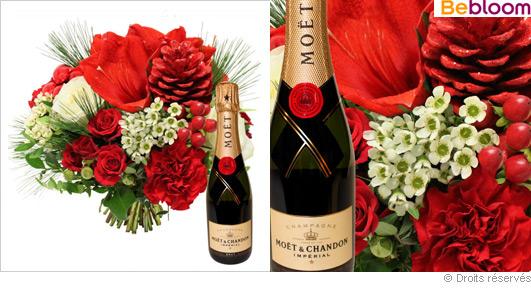 bouquet champagne. Black Bedroom Furniture Sets. Home Design Ideas