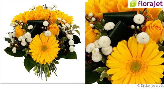 composition de fleurs offrir pour une f te pictures to pin on pinterest. Black Bedroom Furniture Sets. Home Design Ideas