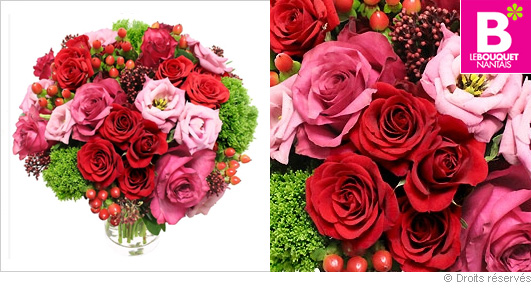 livraison de fleurs pour la st valentin. Black Bedroom Furniture Sets. Home Design Ideas