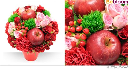 Bouquet de fleurs spécial Saint Valentin 2014