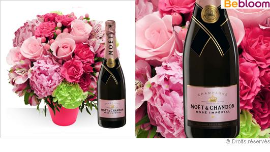 fleurs et champagne pour votre maman. Black Bedroom Furniture Sets. Home Design Ideas