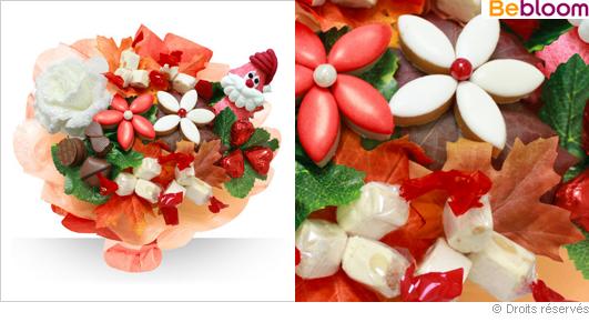 Bouquet gourmand confiseries, chocolats, gourmandises