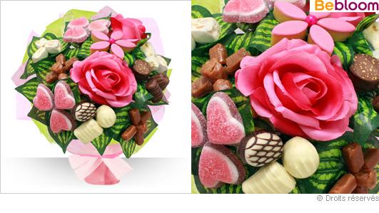 Un bouquet gourmand pour votre maman... chocolat, calisson, confiserie