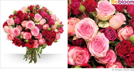 Offrir des roses et pivoines pour la f te des m res for Fleurs offrir