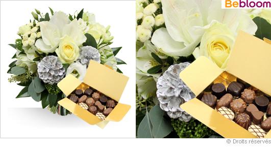 Livraison fleurs et chocolats réveillon de noel