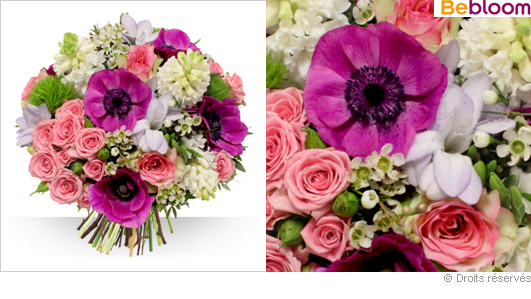 Bouquet de saison hiver, livraison à domicile