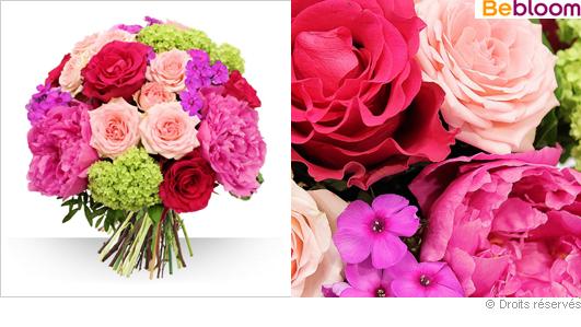 Livraison de fleurs, fête des mères 2016