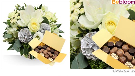 Livraison bouquet de fleurs, Réveillons et chocolats