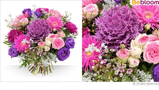 Offrir des fleurs bouquet teintes hiver